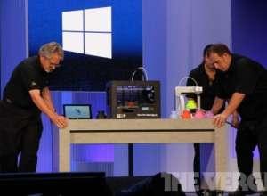 Windows 8.1:像使用Word一样进行3D打印