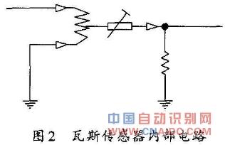 瓦斯传感器内部电路图