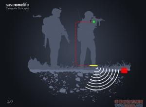 Saveonelife智能扫雷鞋垫 扫雷兵的救星